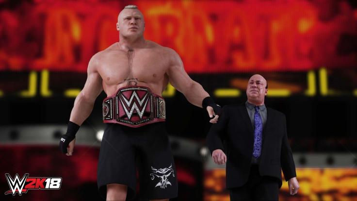 WWE 2K18 Brock Lesnar