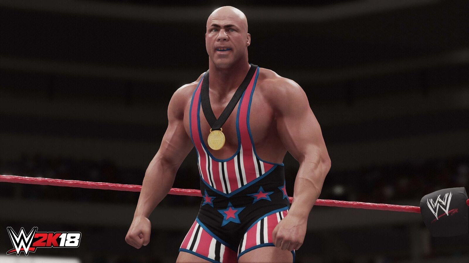 WWE 2K18 Kurt Angle