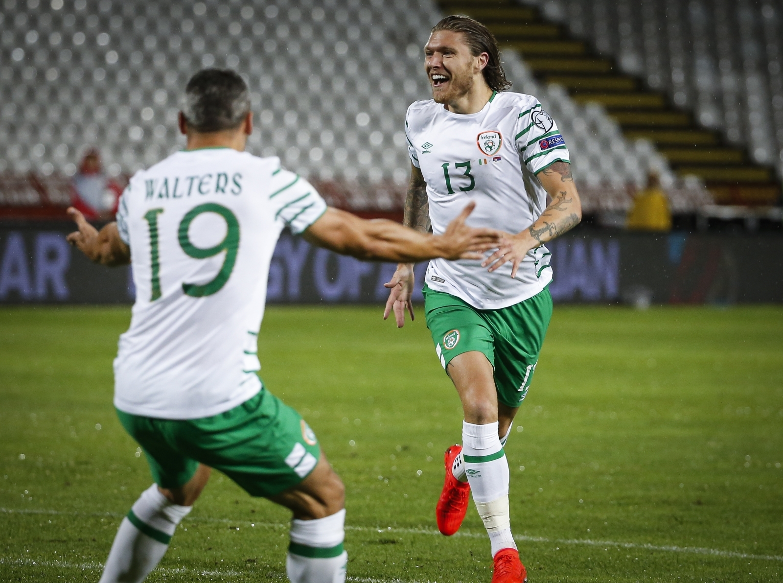 Jon Walters and Jeff Hendrick
