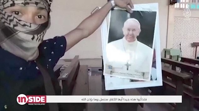 Isis Pope threat