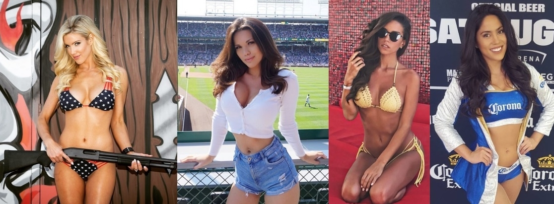 Mayweather-McGregor card girls