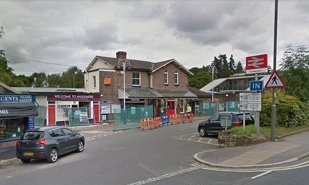 Teenager hit by train in Surrey