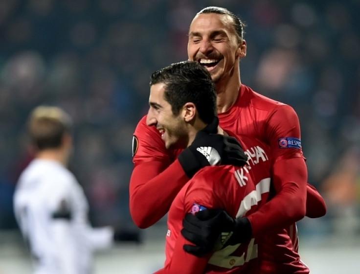 Mkhitaryan and Ibrahimovic