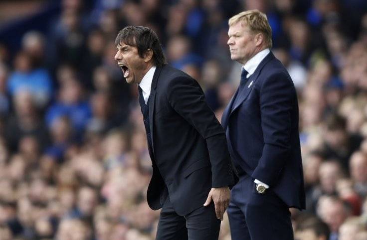 Antonio Conte and Ronald Koeman