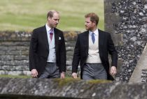 William and Harry at Pippa Middleton wedding