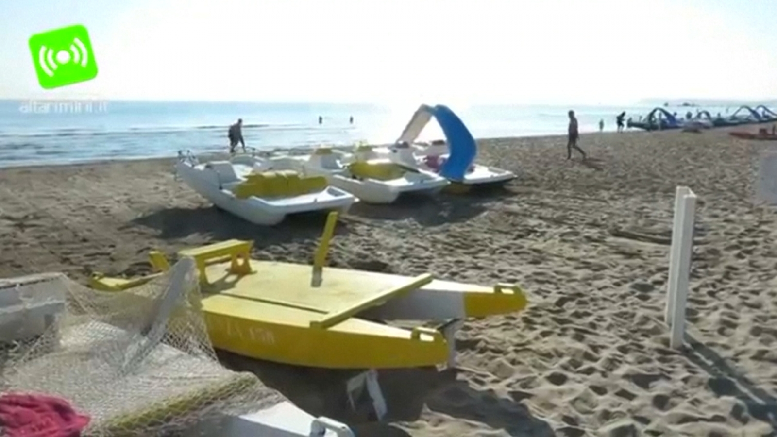 Polish Woman Gang Raped On Beach In Italy