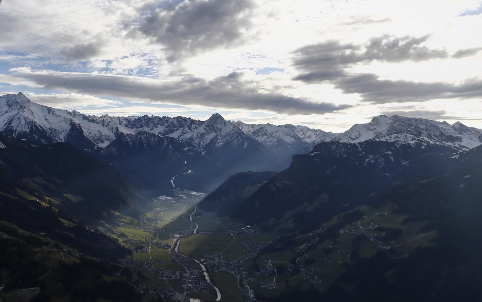 Austria's Zillertal Alps