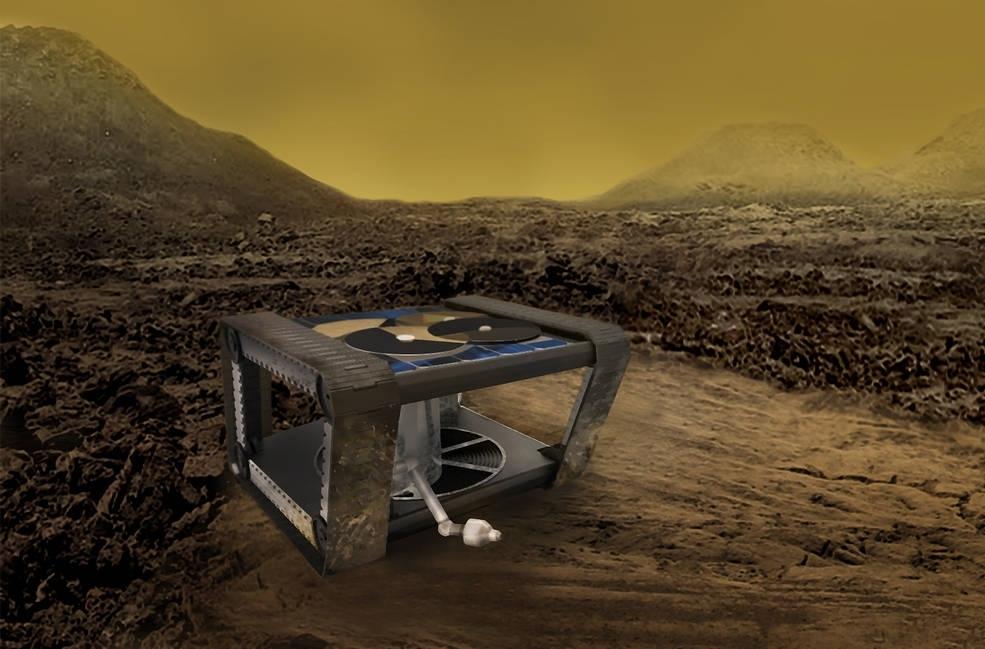 NASA New Clockwork-Prototype Rover to Study Venus' Extreme Environment