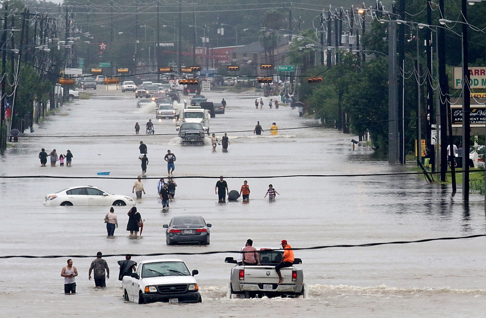 Storm Harvey: Texas Lashed With 'Unprecedented' Rain