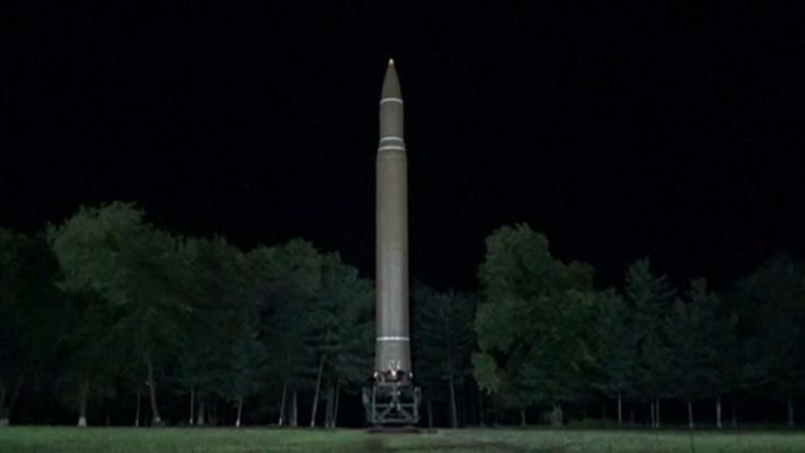 North Korea Fire Missile Over Northern Japan