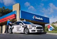 Autonomous Ford Domino's delivery