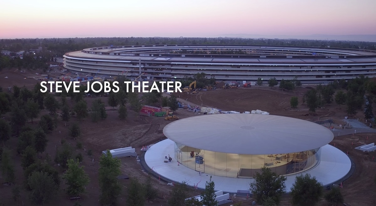 Steve Jobs Theatre at Apple Park