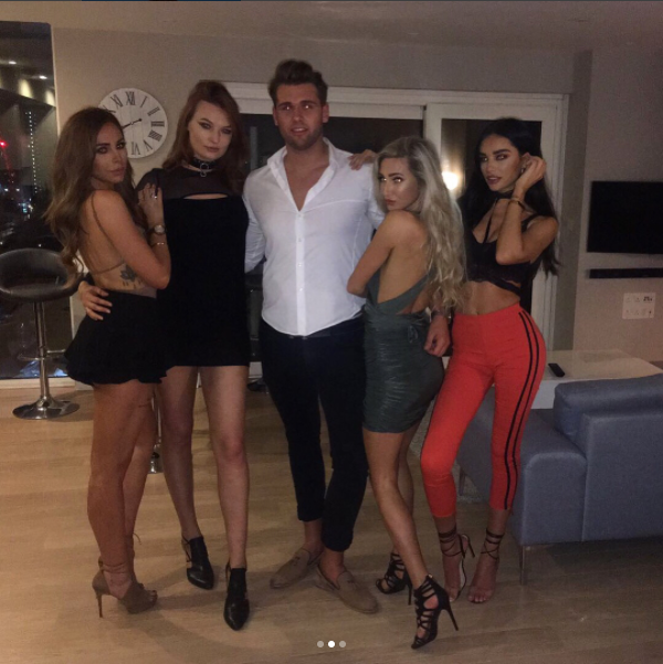 Ruby Mae ditches boyfriend Dele Alli for girls night and goes braless in sexy outfit on Instagram