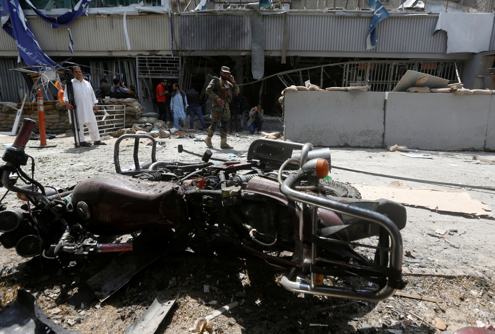 Afghan Kabul Suicide Attack 29 August