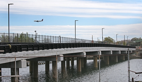 A seven-year-old girl was thrown off a bridge over Lake Quinsigamond in Worcester, Massachusetts