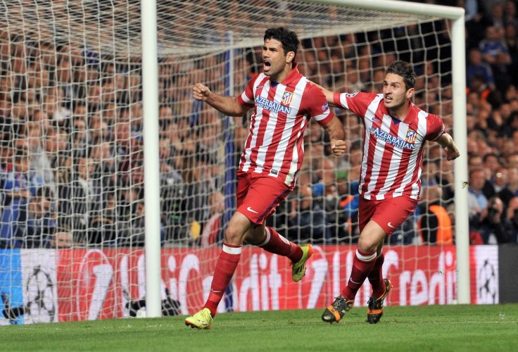 Diego Costa and Koke