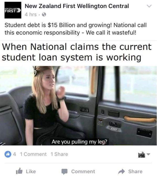 NZ First Fake Taxi porn meme