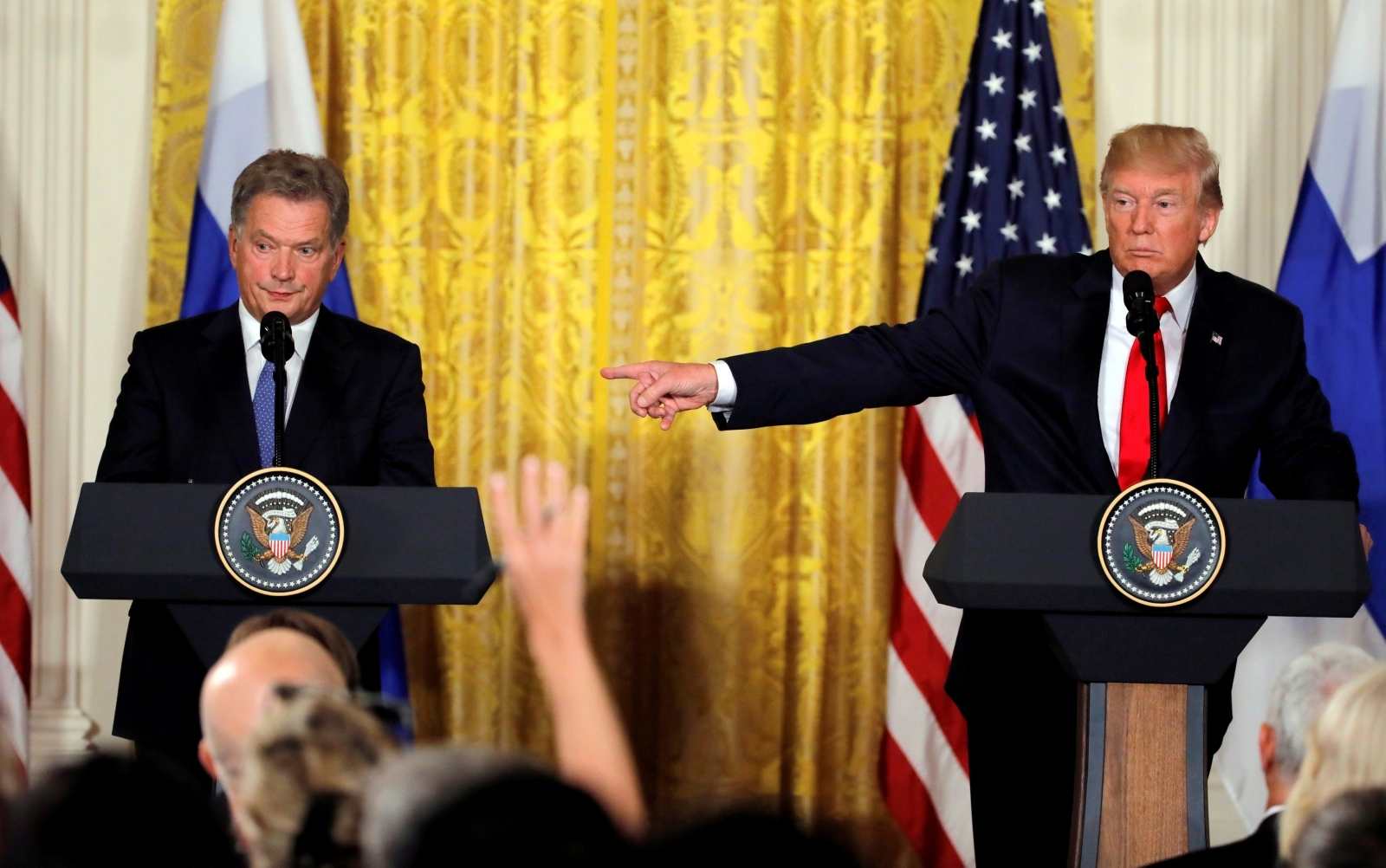 Trump and Niinisto