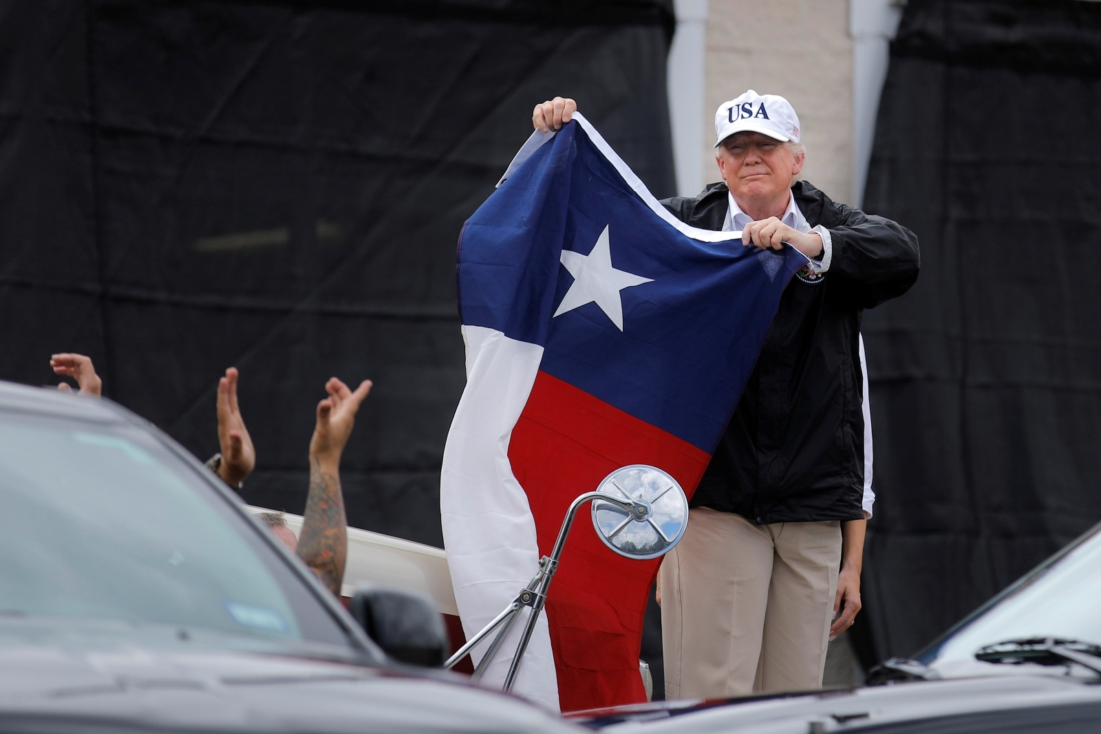 Donald Trump to visit Texas following devastating flooding