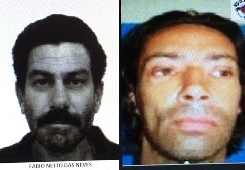 British citizen Michael Steer Renshaw (r) and Brazilian Fabio Netto de Neves were killed on the streets of Sao Paulo, Brazil