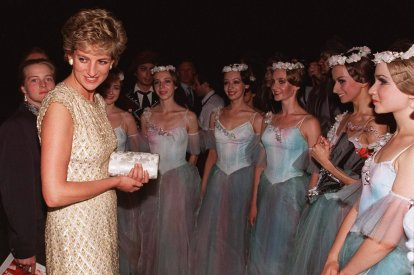 Rarely seen photos of Princess Diana