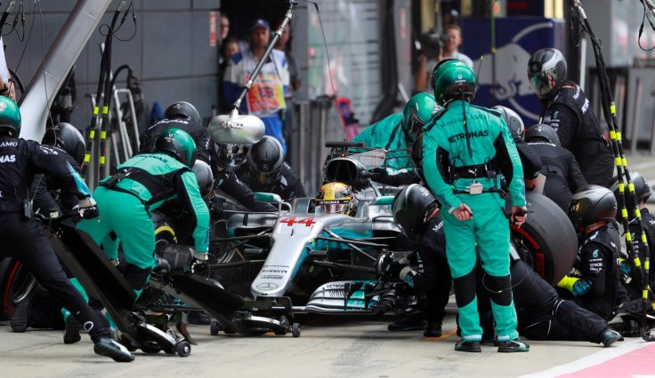 Lewis Hamilton Mercedes-AMG Formula One