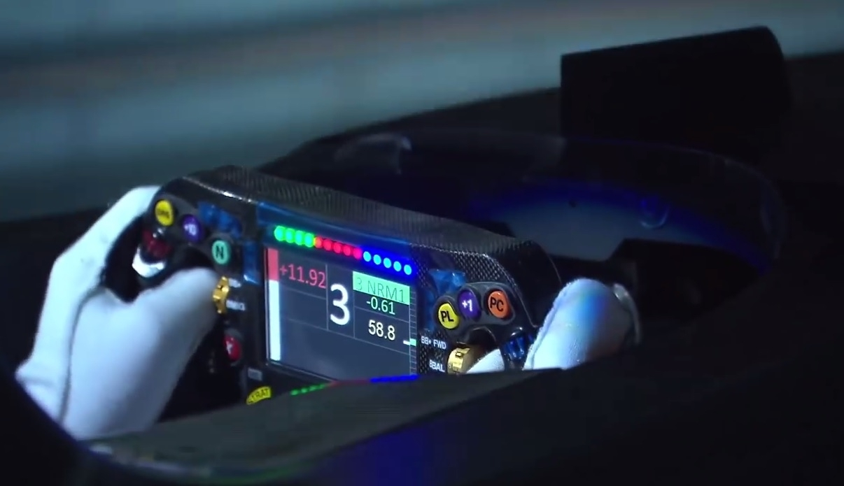 Mercedes-AMG F1 simulator