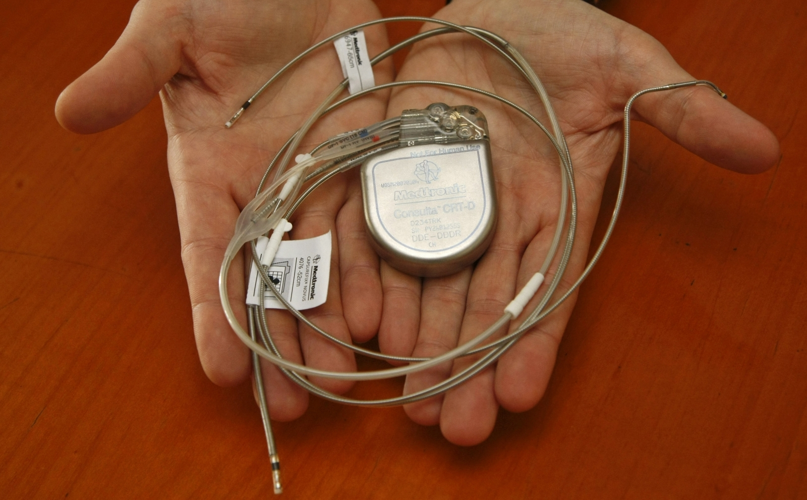 Pacemaker security flaw