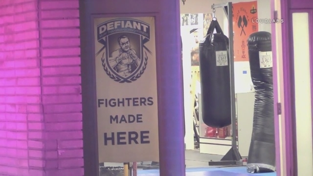 The Defiant MMA and Fitness studio in Burbank where an instructor disarmed a man who walked in with a gun