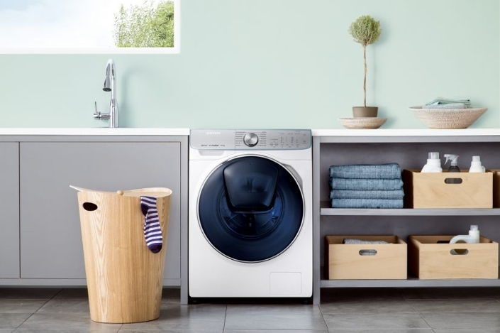 Samsung WW8800M washing machine with AI