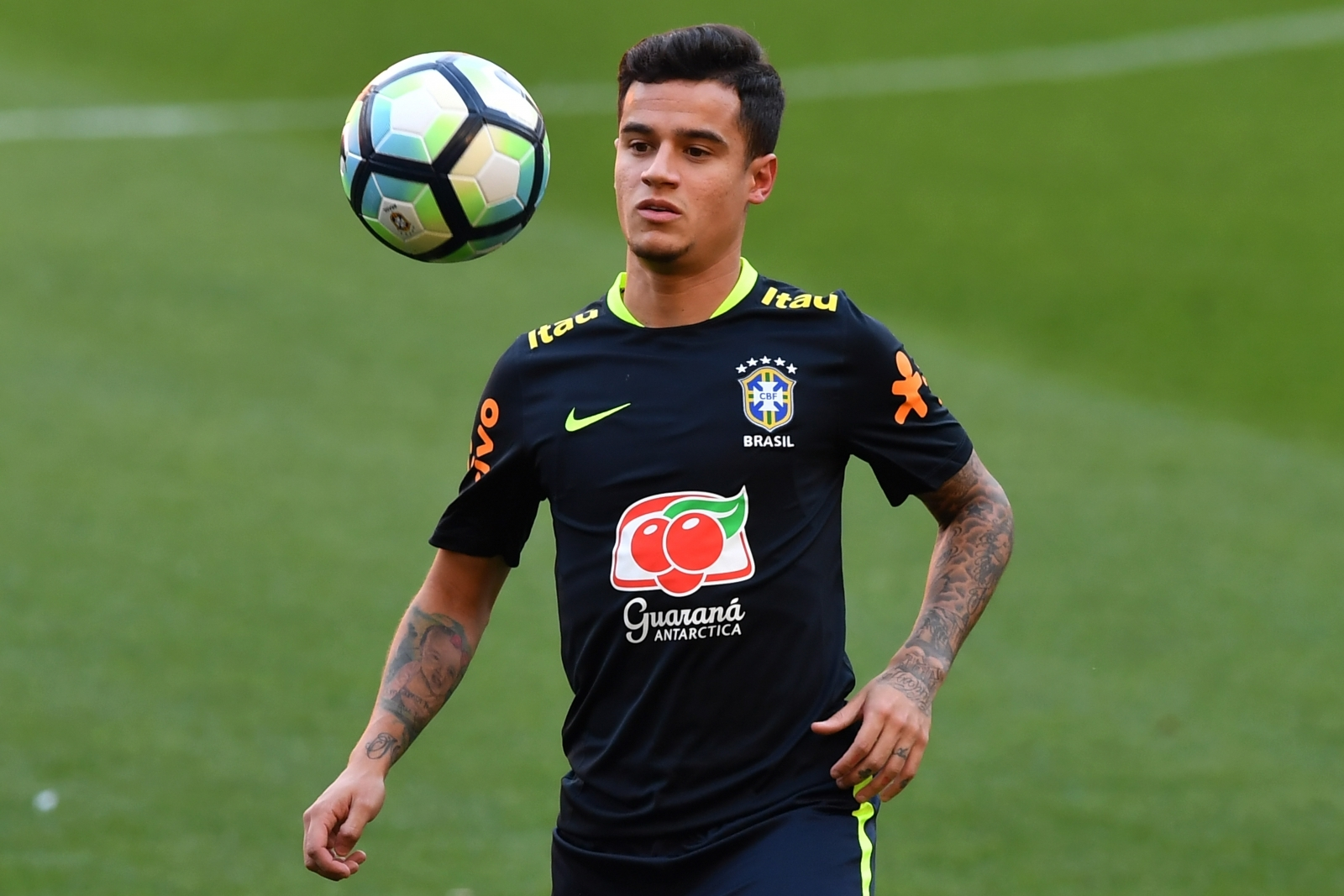 Coutinho to start on bench for Brazil against Ecuador