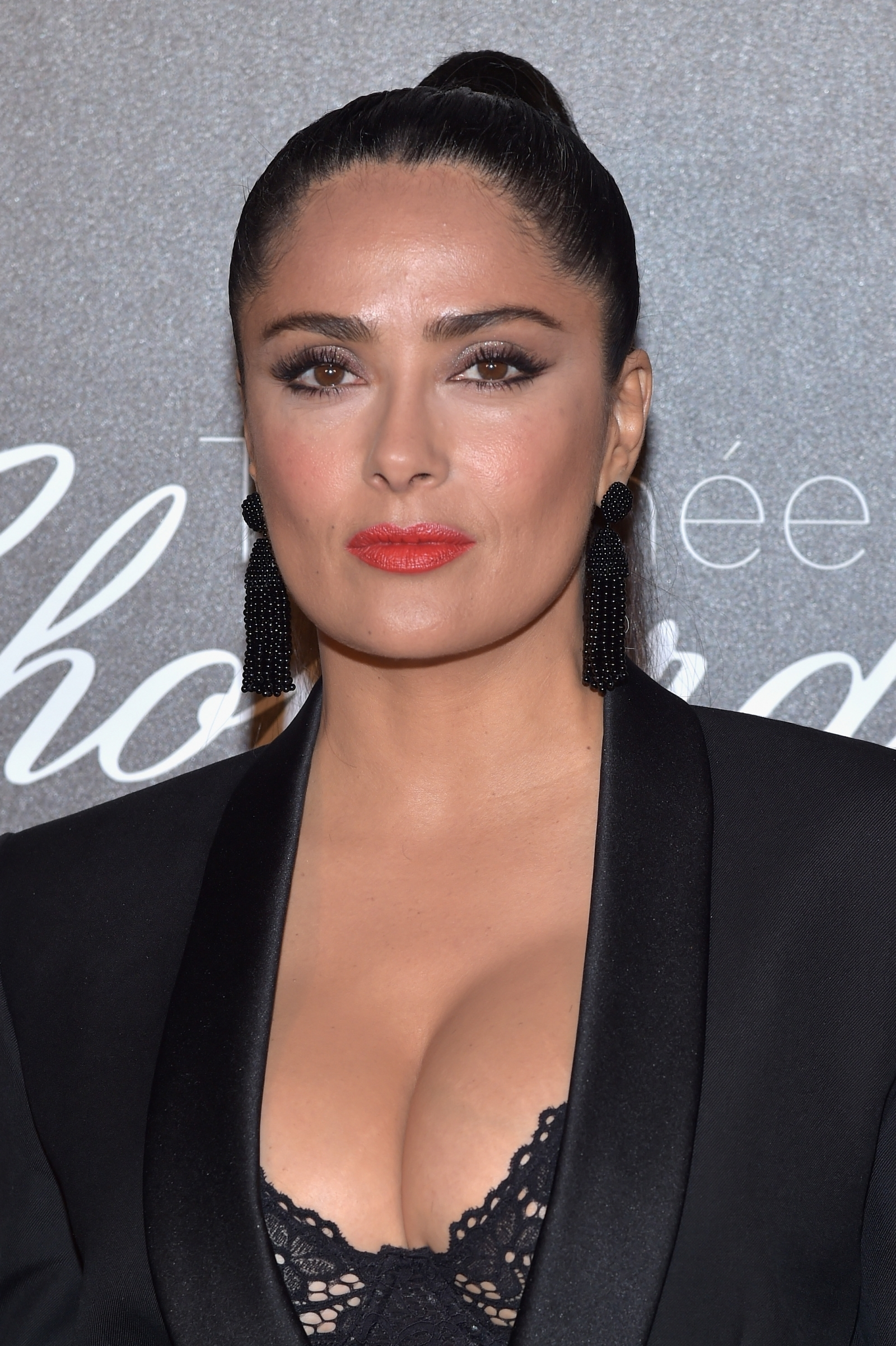 Salma Hayek stuns in racy lingerie and see-through outfit in eye-popping cover shot: 'Sexy Mama'