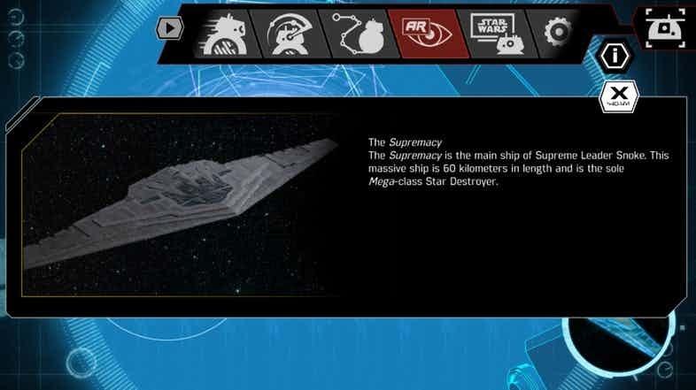 Star Wars Sphero App Supremacy
