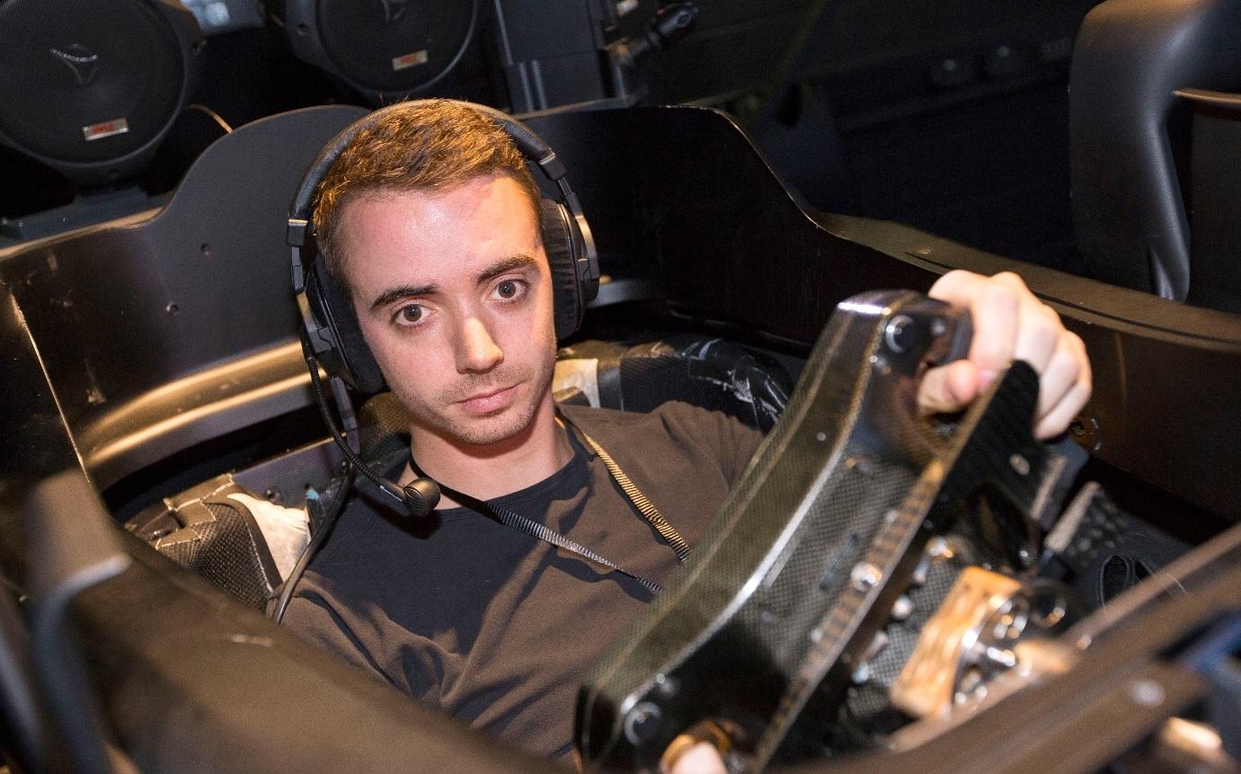 Mercedes F1 simulator