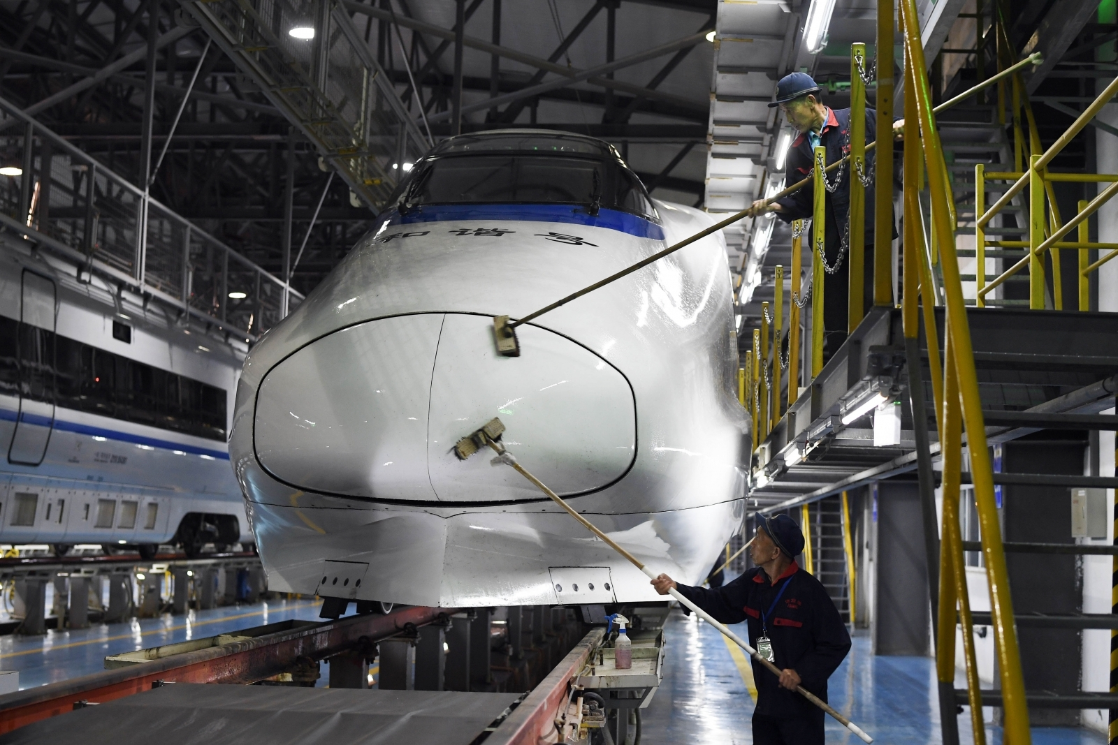 China will get 'flying trains'