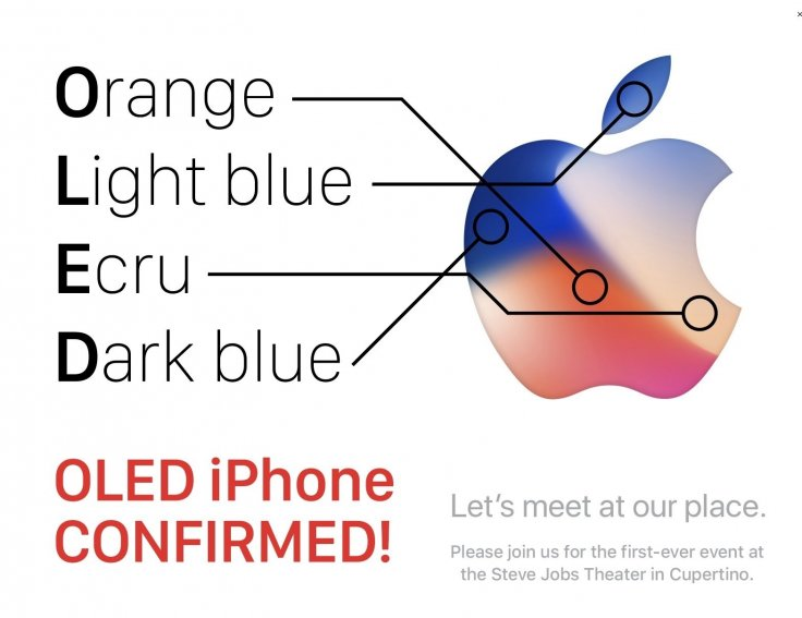 What are the secret messages hiding in Apple's iPhone 8 event invite?