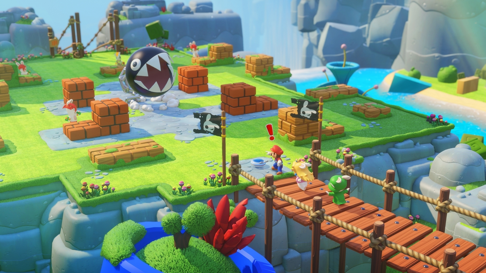 Mario Rabbids Kingdom Battle