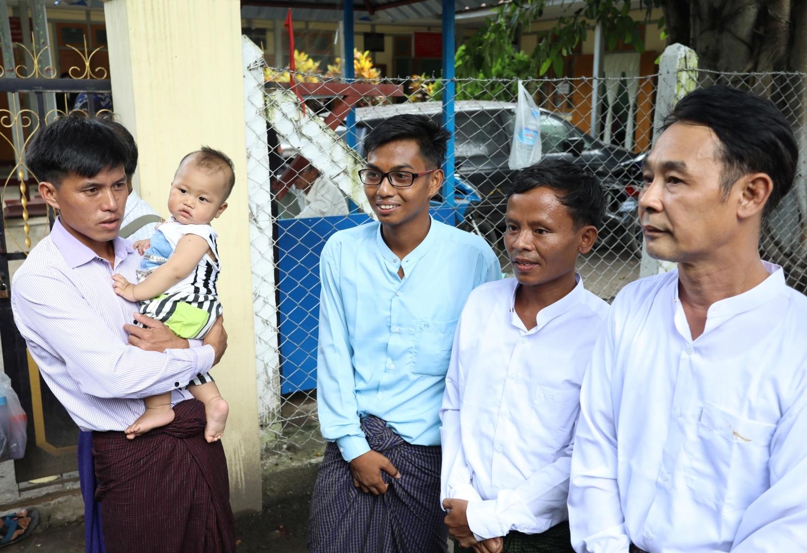 Myanmar journalists released