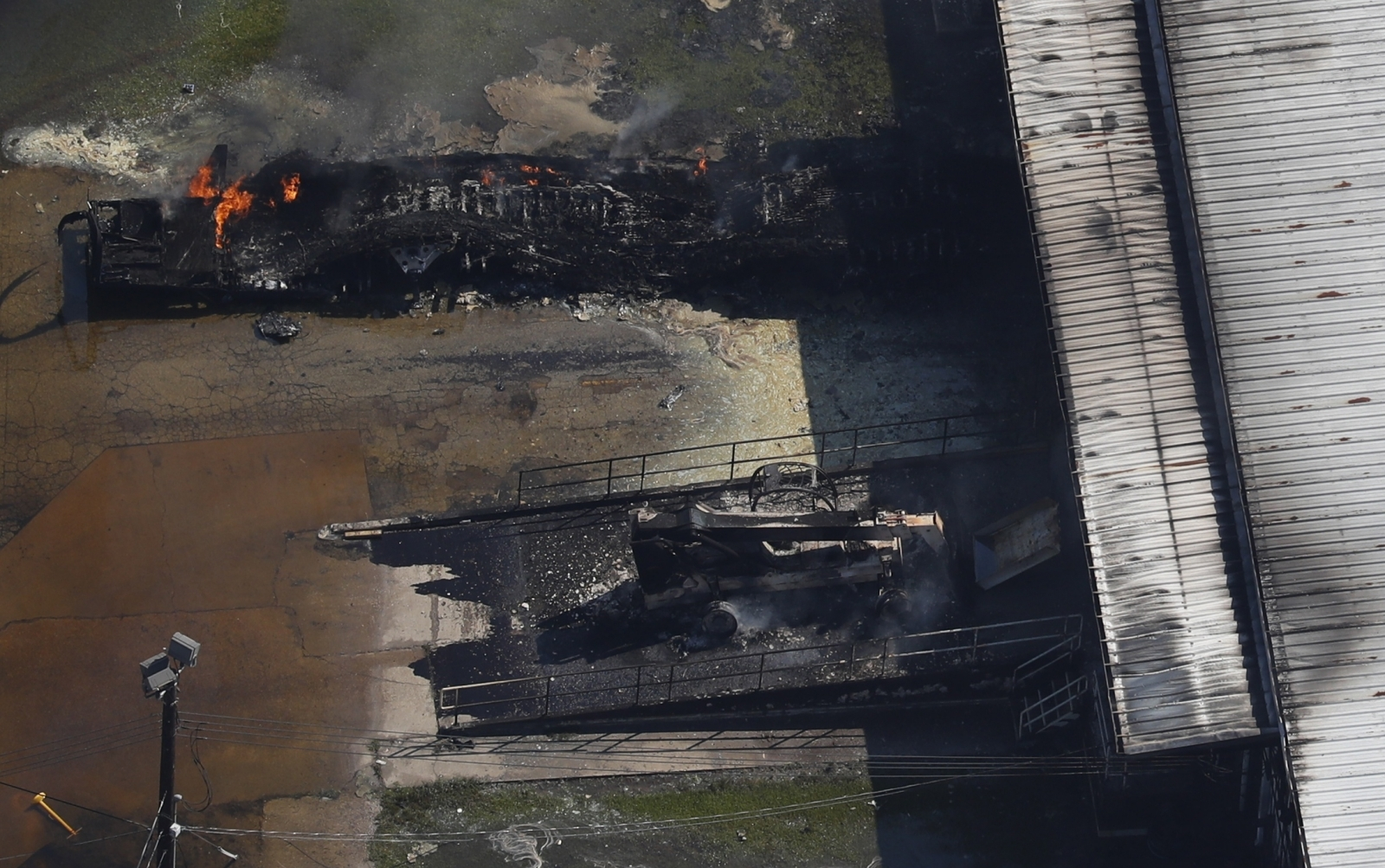 Arkema chemical factory fire Texas