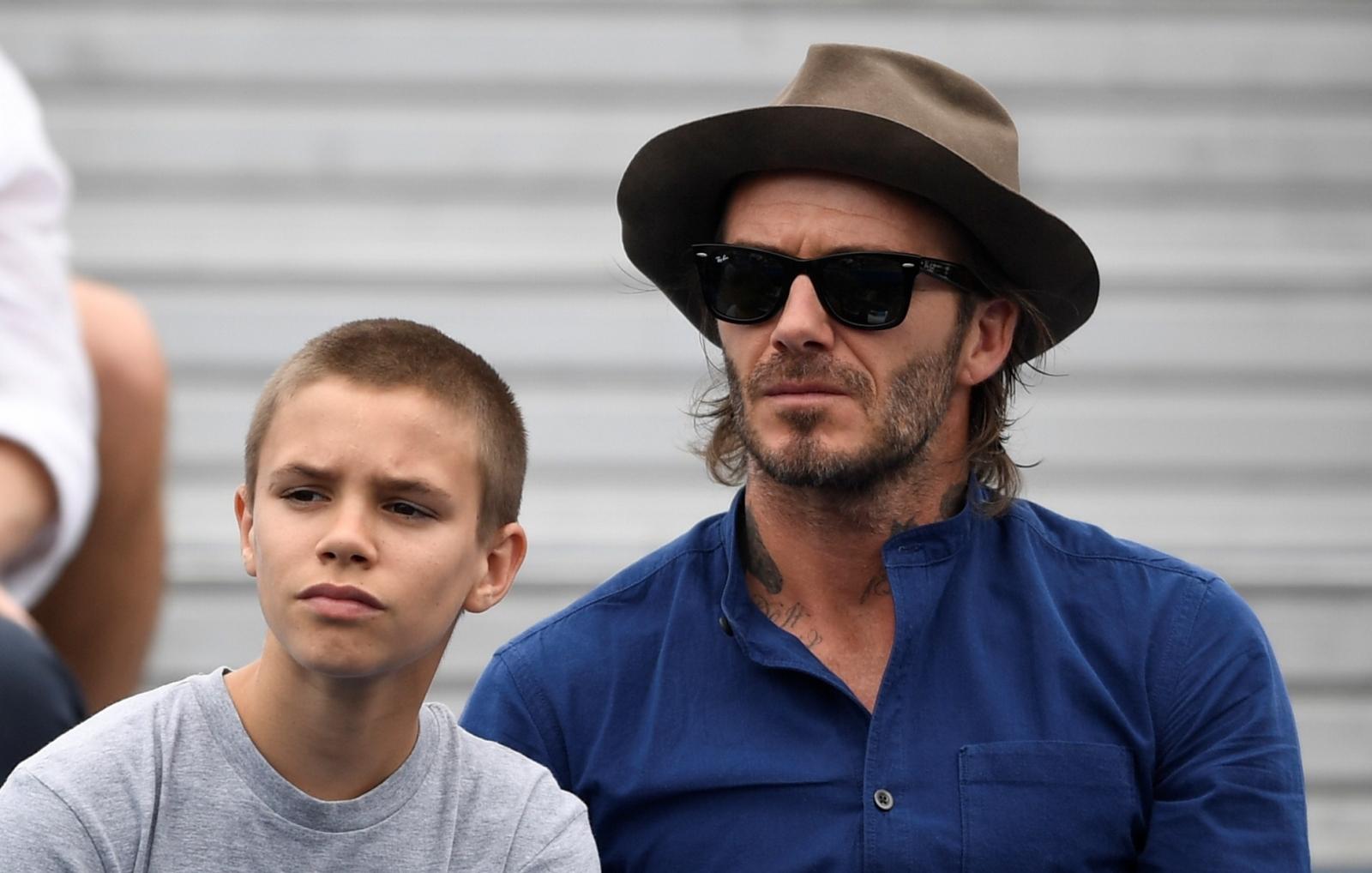 David Beckham, Romeo Beckham
