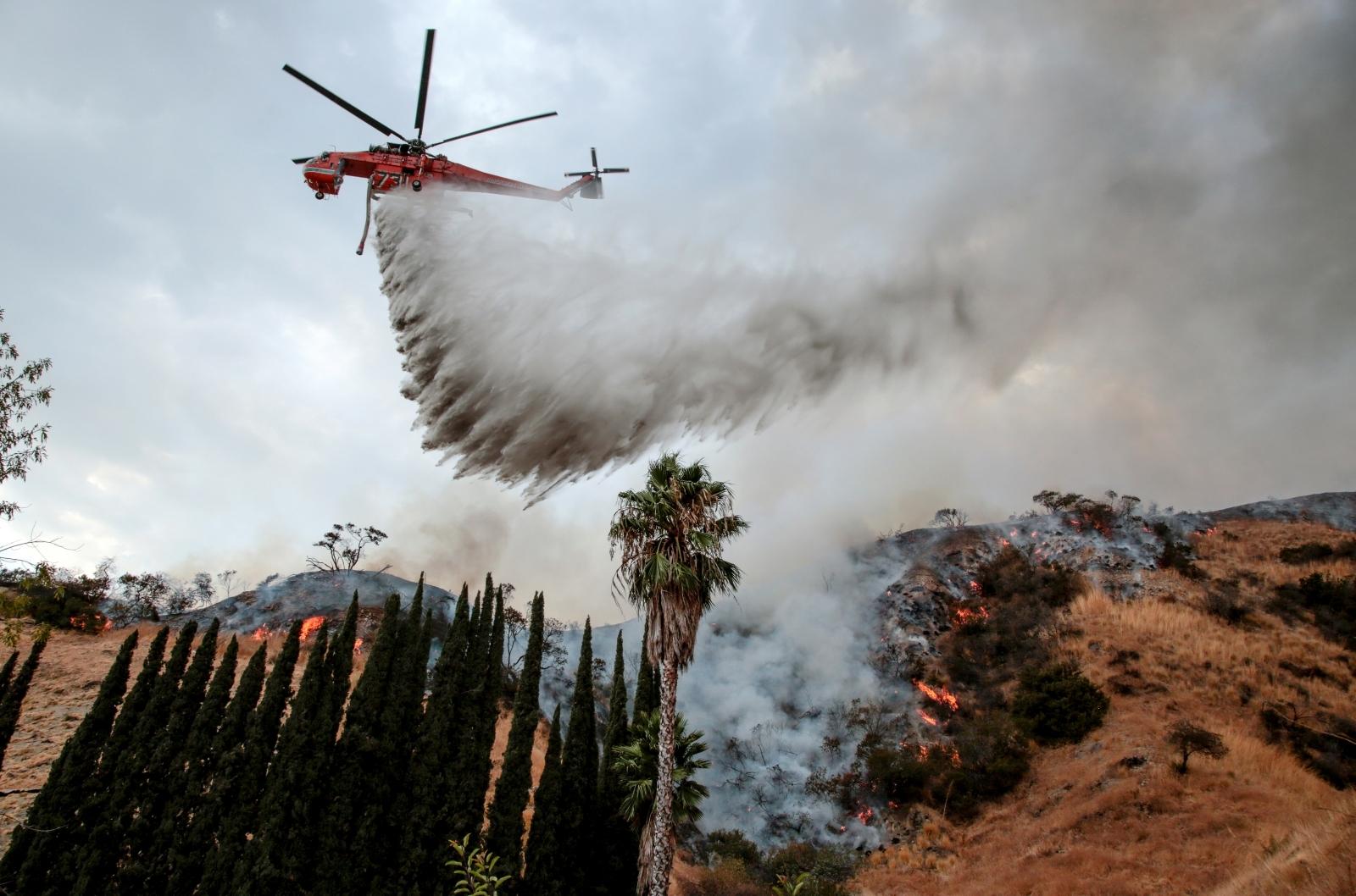 Los Angeles wildfire