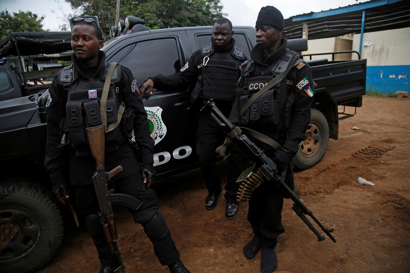 Ivory Coast police