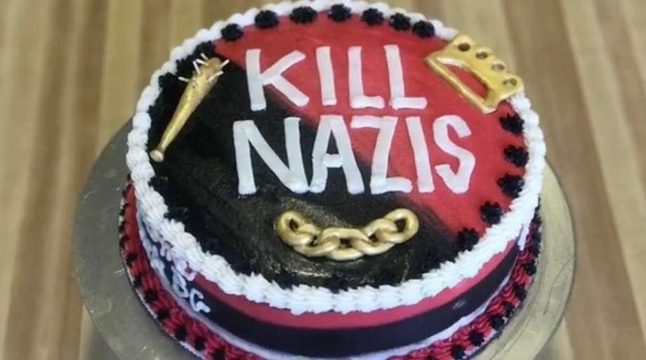 Kill Nazis cake