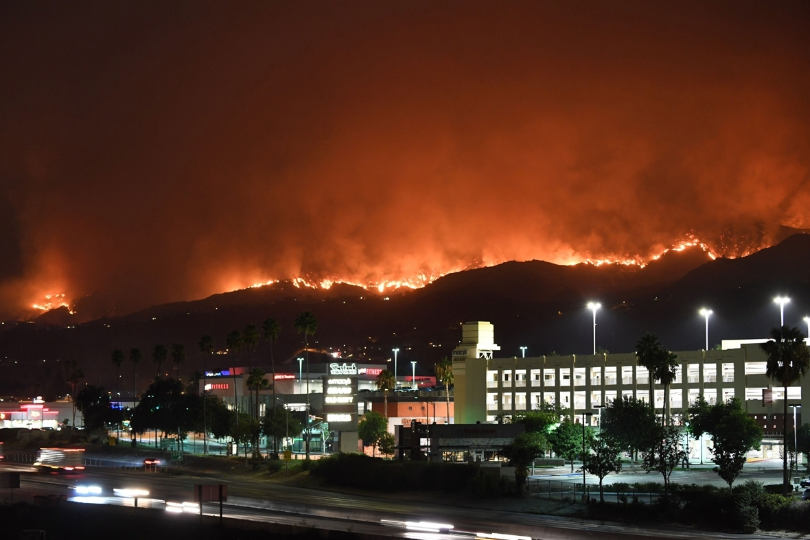 La Tuna Fire Los Angeles