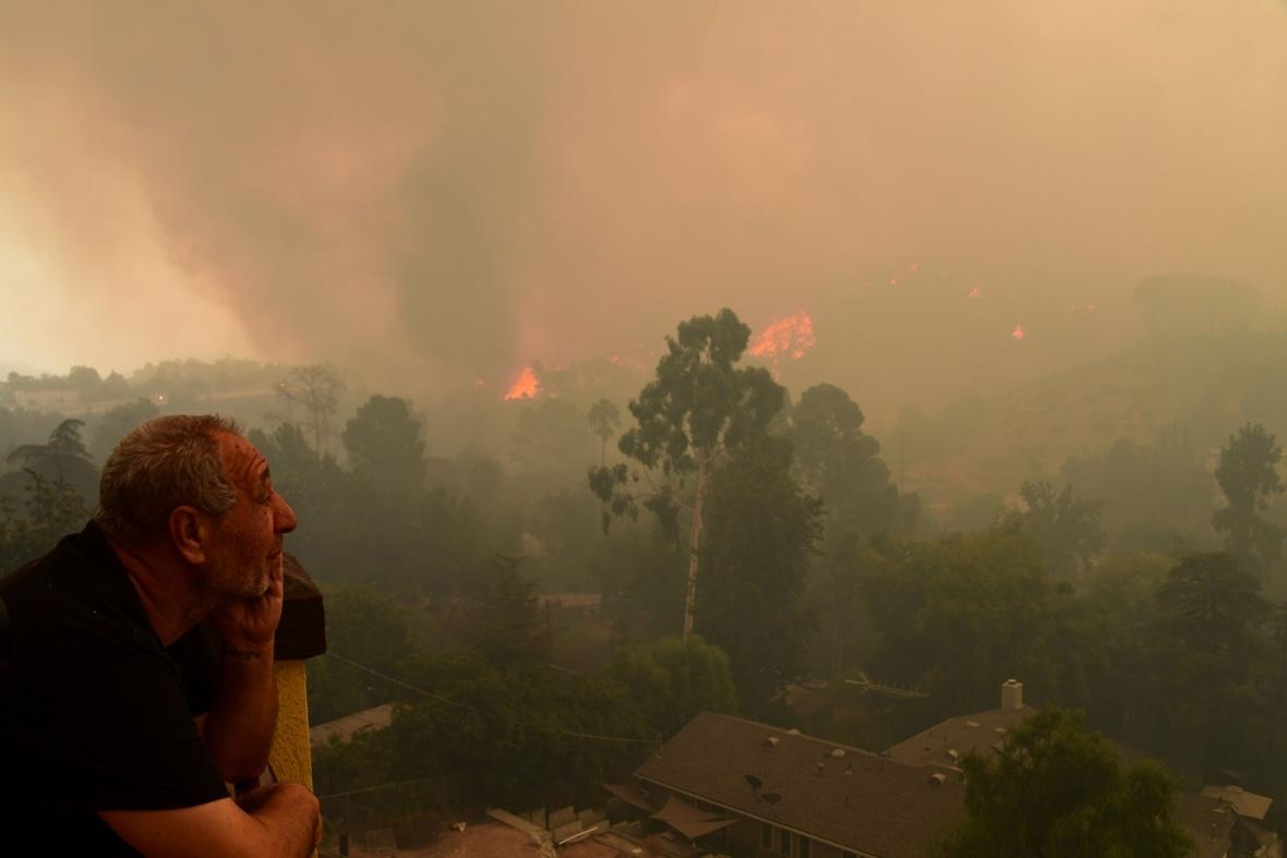 La Tuna Fire Los Angeles
