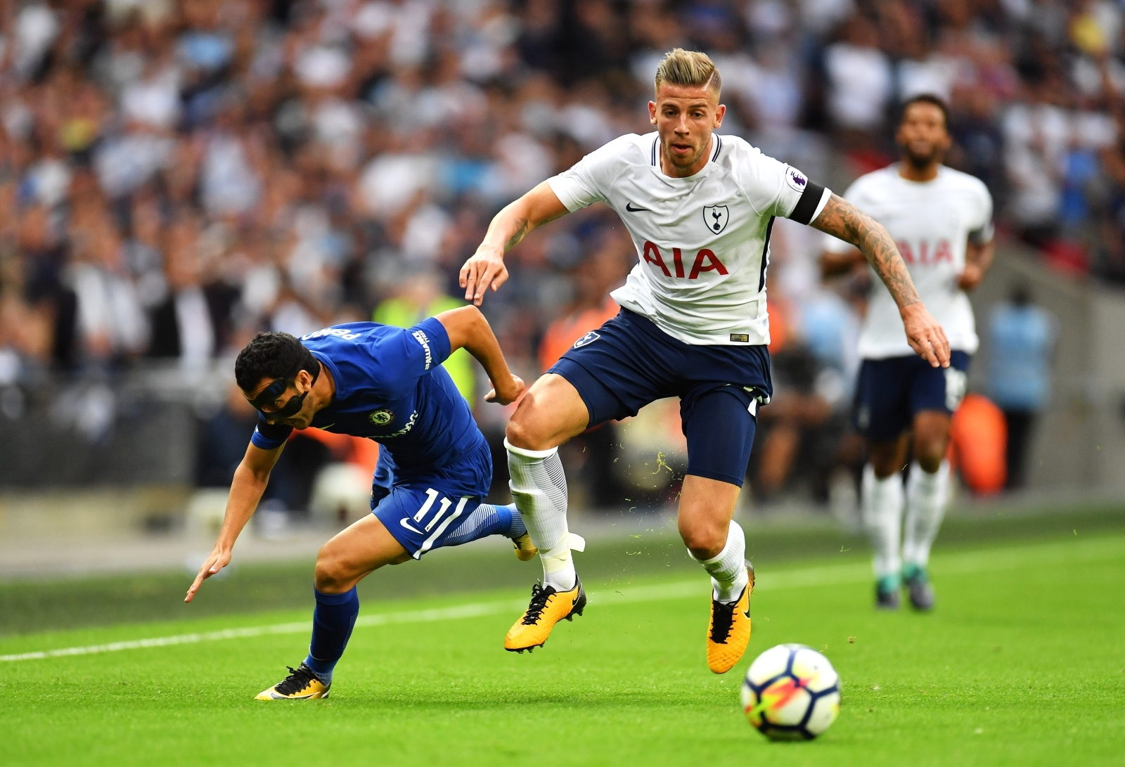 Chelsea and Manchester City offered hope of landing Tottenham centre-back