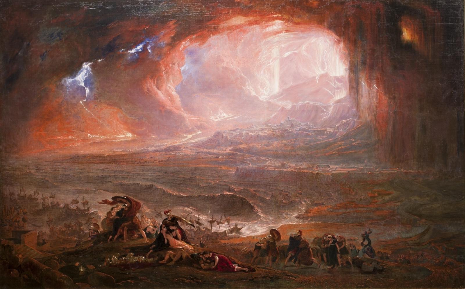 Destruction of Pompeii and Herculaneum