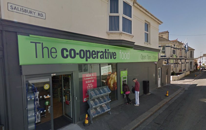 Co-op supermarket Plymouth