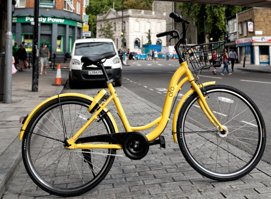 ofo bike sharing London