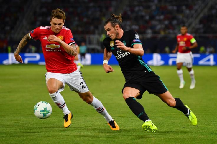 Victor Lindelof and Gareth Bale